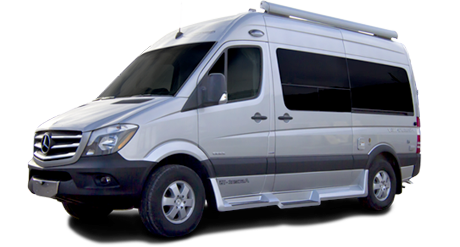 Compare vehicle features mercedes sprinter camper van rental for Mercedes benz rv rentals