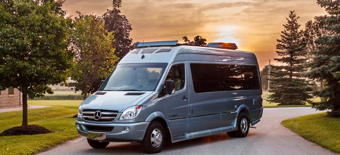About us mercedes sprinter camper van rental for Mercedes benz rv rentals