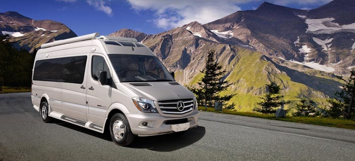 About us mercedes sprinter camper van rental for Mercedes benz camper van rental
