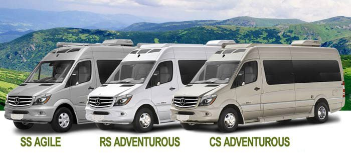 amenities mercedes sprinter camper van rental