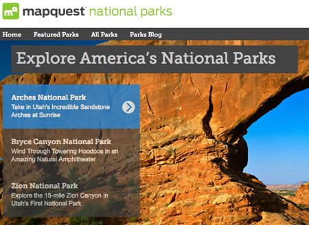 mapquest_national_parks