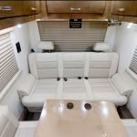 Coachmen, re-designed and embroidered front seat recovers and mid chairs
